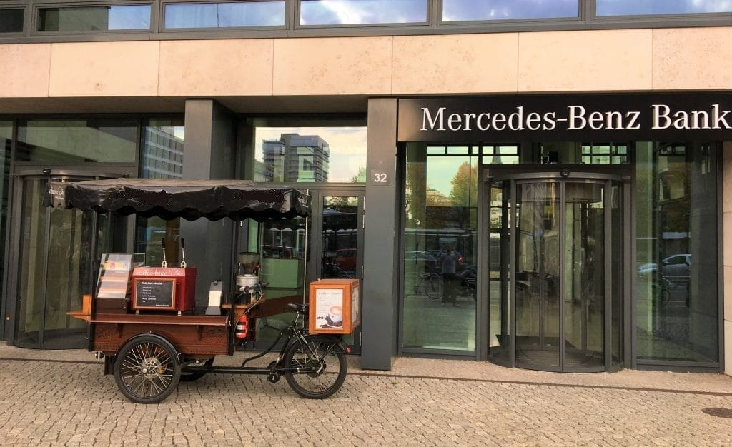 Catering Mercedes Benz Bank
